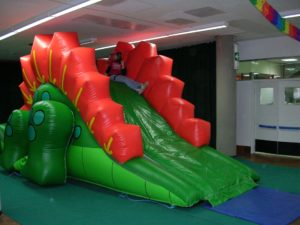 GIOCO GONFIABILE DRAGON SLIDE