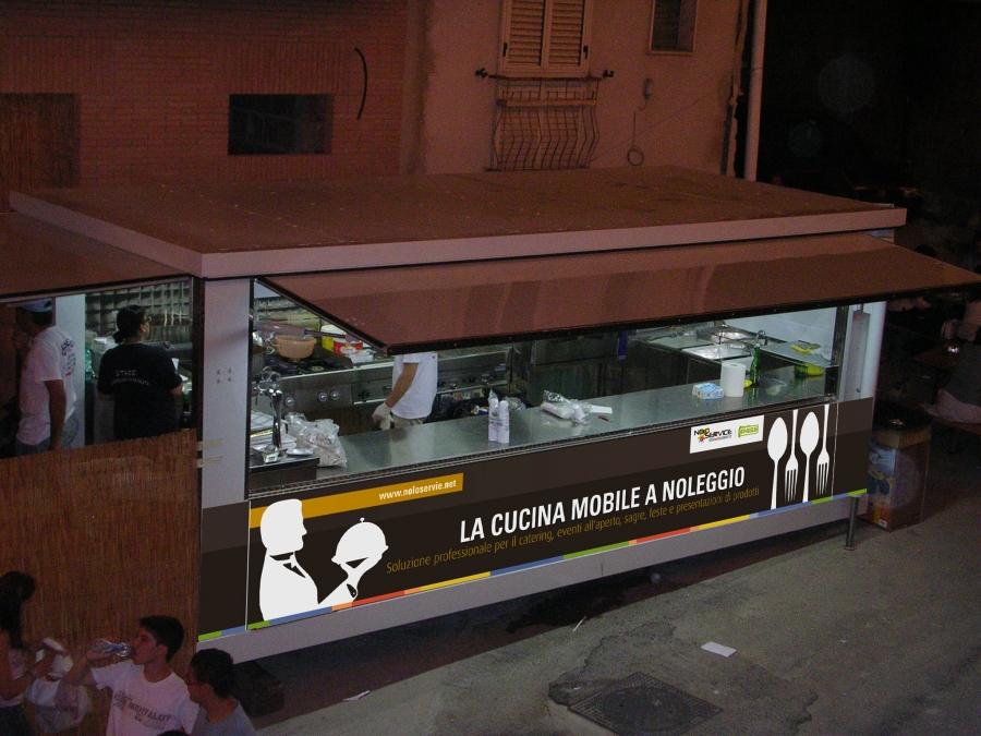 Awesome Cucina Mobile Per Catering Pics - Carolineskywalker ...