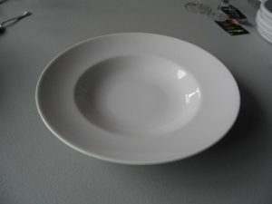 PIATTO Porcellana PASTA BOWL Diametro Cm. 30